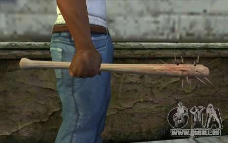 Nail Bat from Beta Version für GTA San Andreas dritten Screenshot