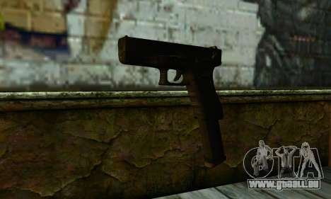 Glock 18 from Medal of Honor: Warfighter pour GTA San Andreas