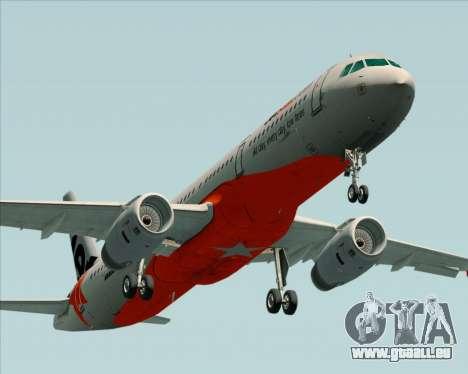 Airbus A321-200 Jetstar Airways pour GTA San Andreas moteur