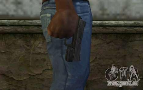 Pistol from Deadpool pour GTA San Andreas troisième écran