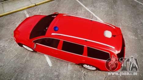 Volkswagen Passat 2014 Unmarked Police pour GTA 4 est un droit