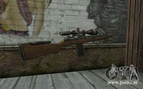 M21 from Battlefield: Vietnam pour GTA San Andreas deuxième écran