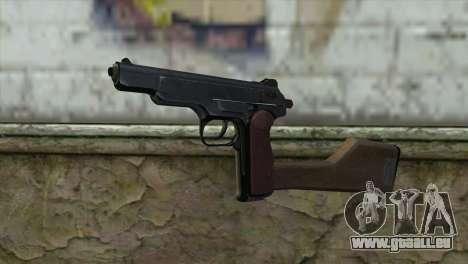 Stechkin Pistolet Automatique pour GTA San Andreas