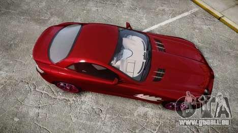 Mercedes-Benz SLR 722 2005 pour GTA 4 est un droit
