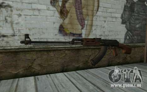 RPK 74 from Battlefield 4 pour GTA San Andreas