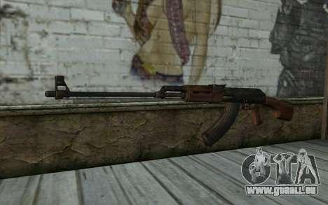 RPK 74 from Battlefield 4 pour GTA San Andreas