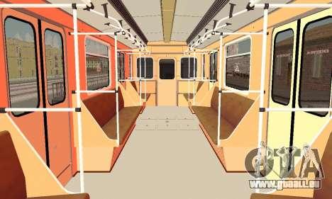 Metrophage Typ 81-717 für GTA San Andreas Seitenansicht