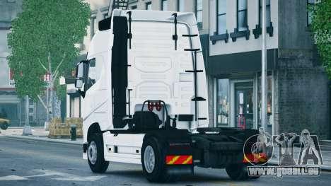 Volvo FH16 Truck pour GTA 4 est une gauche