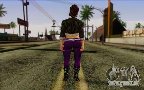 Shaundi from Saints Row The Third pour GTA San Andreas deuxième écran