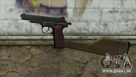 Stechkin Pistolet Automatique pour GTA San Andreas troisième écran