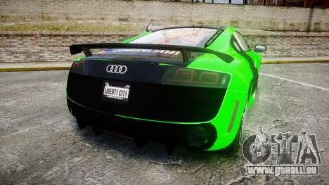 Audi R8 GT Coupe 2011 Yoshino für GTA 4 hinten links Ansicht