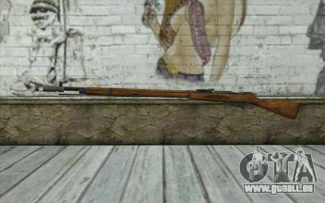 Die Gewehre Mosin-v5 für GTA San Andreas