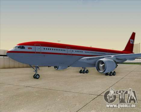 Airbus A330-200 LTU International pour GTA San Andreas roue