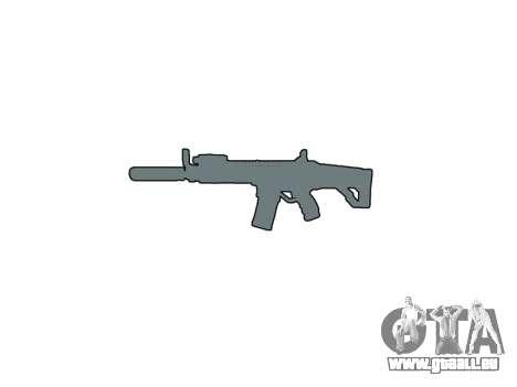 Maschine LK-05 Schalldämpfer icon1 für GTA 4 dritte Screenshot