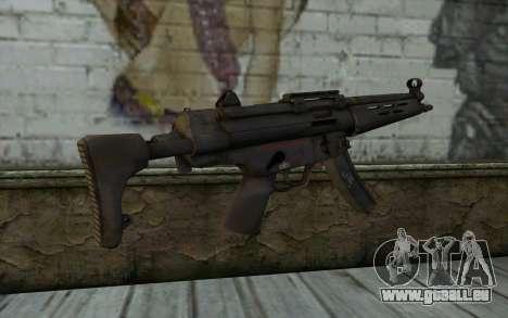 MP5 from FarCry 3 pour GTA San Andreas deuxième écran