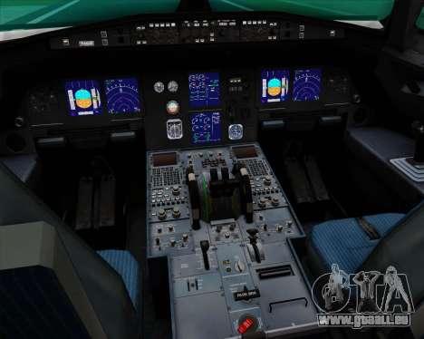 Airbus A321-200 Qantas (Socceroos Livery) für GTA San Andreas Innen