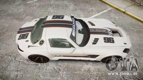 Mercedes-Benz SLS AMG GT-3 low für GTA 4 rechte Ansicht