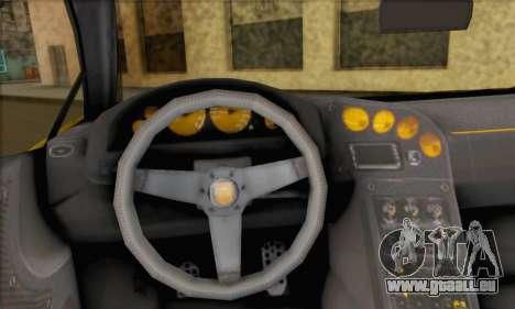 Pegassi Vacca (HQLM) pour GTA San Andreas sur la vue arrière gauche