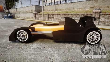 Caparo T1 pour GTA 4 est une gauche