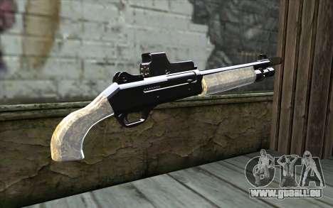 Silver Shotgun für GTA San Andreas zweiten Screenshot