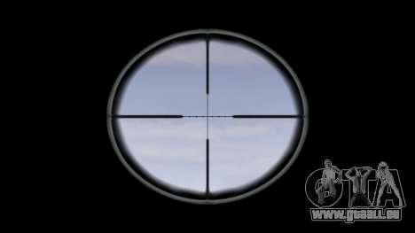 Gewehr M16A4 ACOG Ziel für GTA 4 dritte Screenshot