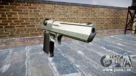 Пистолет IMI Desert Eagle Mk XIX Chrome pour GTA 4