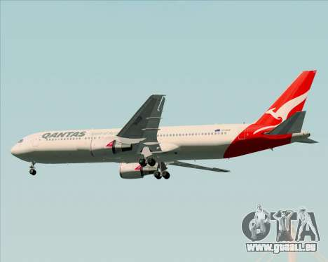 Boeing 767-300ER Qantas (New Colors) für GTA San Andreas Räder