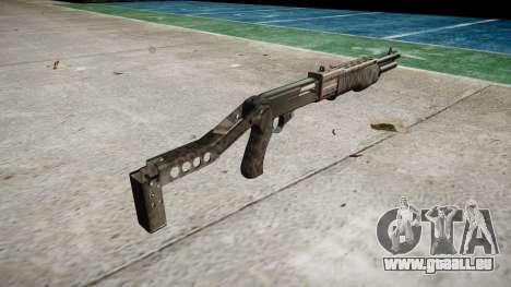Ружье Franchi SPAS-12 Kryptek Typhon für GTA 4 Sekunden Bildschirm