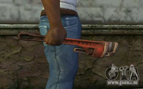 Schraubenschlüssel (DayZ Standalone) für GTA San Andreas dritten Screenshot