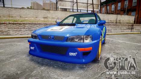 Subaru Impreza WRC 1998 World Rally pour GTA 4