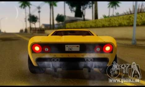 GTA 5 Bullet pour GTA San Andreas vue de droite