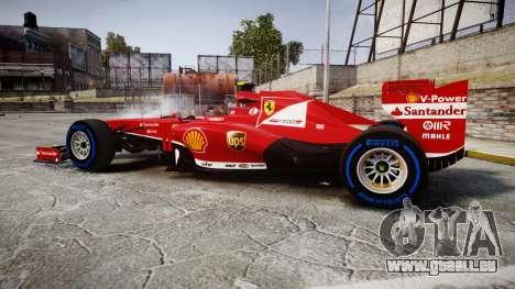 Ferrari F138 v2.0 [RIV] Massa TFW für GTA 4 linke Ansicht