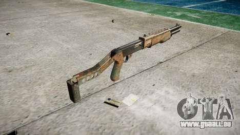 Ружье Franchi SPAS-12 Jungle pour GTA 4 secondes d'écran