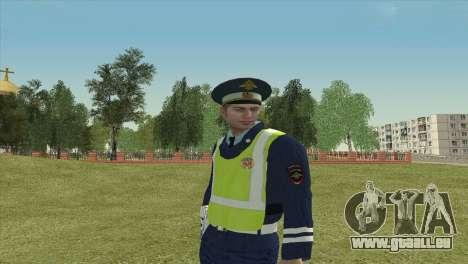 Sous-inspecteur de DPS pour GTA San Andreas troisième écran