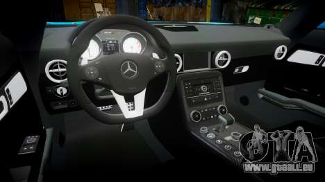Mercedes-Benz SLS AMG v3.0 [EPM] Kotori Minami pour GTA 4 est une vue de l'intérieur