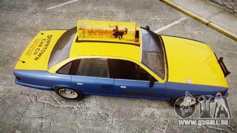 Vapid Stanier Taxi DCC pour GTA 4 est un droit