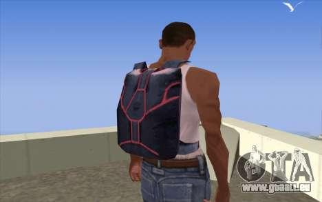 Parachute from Beta Version pour GTA San Andreas troisième écran