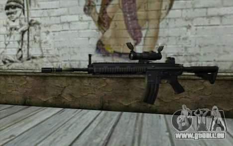 HK416 (Bump mapping) v2 für GTA San Andreas