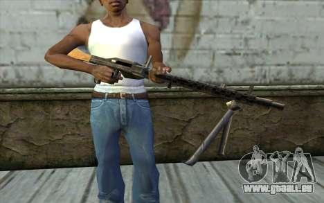 MG-34 from Day of Defeat pour GTA San Andreas troisième écran
