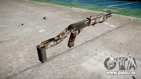 Ружье Franchi SPAS-12 Zombies pour GTA 4 secondes d'écran