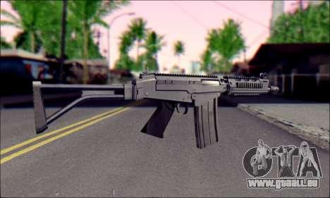 FN FAL from ArmA 2 pour GTA San Andreas troisième écran