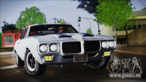 Pontiac Firebird Trans Am Coupe (2337) 1969 für GTA San Andreas