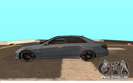 Mercedes-Benz W212 (Wheeljack from TF 3) pour GTA San Andreas laissé vue