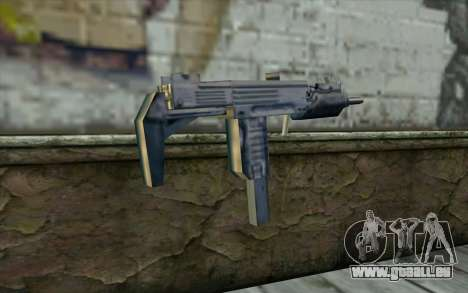 Uzi from Beta Version pour GTA San Andreas deuxième écran