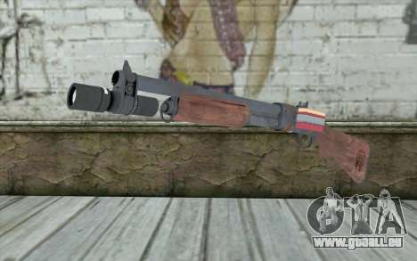Shotgun from Primal Carnage v2 pour GTA San Andreas