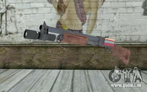 Shotgun from Primal Carnage v2 pour GTA San Andreas