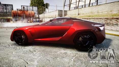 Bertone Mantide 2009 pour GTA 4 est une gauche