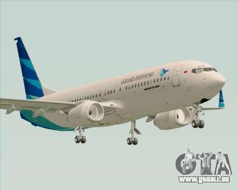 Boeing 737-800 Garuda Indonesia für GTA San Andreas