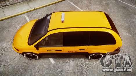 Schyster Cabby Taxi pour GTA 4 est un droit
