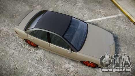 Dinka Chavos Custom pour GTA 4 est un droit